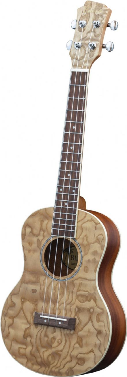 Adam Black Exotic Series Soprano Ukulele - Quilted Ash